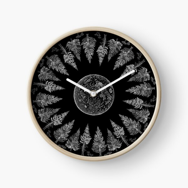 Forest magic Clock