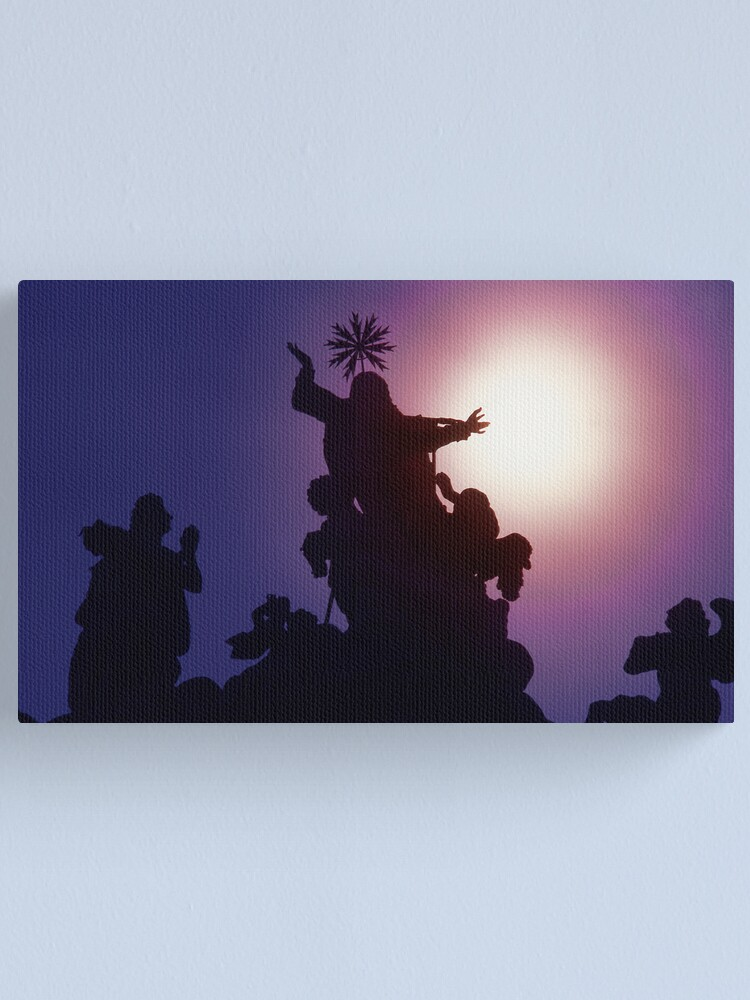 Alternate view of Behold, the Sun Canvas Print