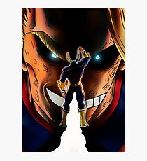 Number one Hero Photographic Print