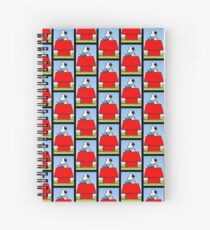 snoopy writer Spiral Notebook