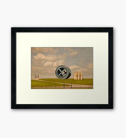 The Witnesses Framed Print