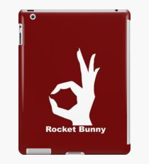 Rocket Bunny (all the things) red iPad Case/Skin