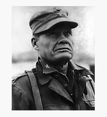 """Colonel Lewis """"Chesty"""" Puller - 1950 Photographic Print"""