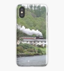 The Train That Rides The Rooftops iPhone Case