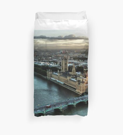 London - Palace Of Westminster Duvet Cover