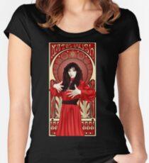 Kate Bush Illustration Women's Fitted Scoop T-Shirt