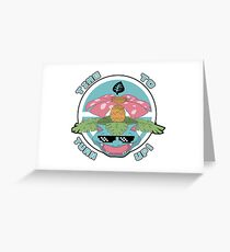 Pokemon - MLG Venusaur Time To Turn Up! Greeting Card
