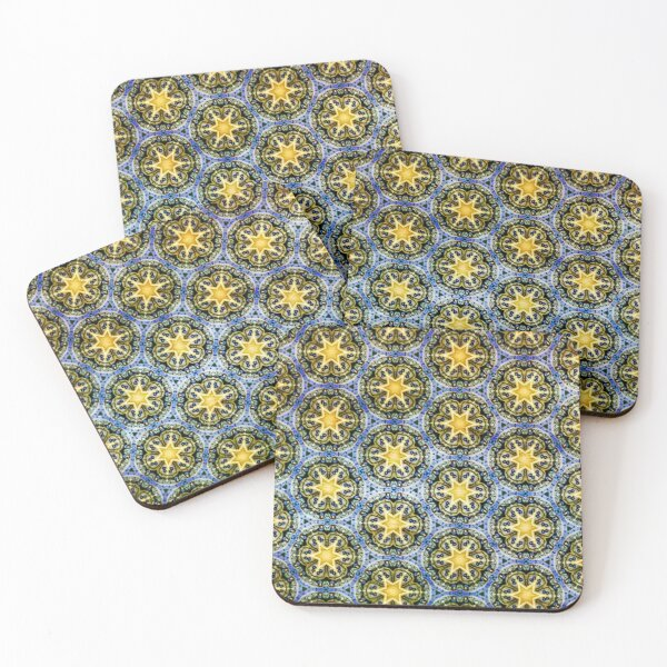 Starry Magic Pattern Coasters (Set of 4)