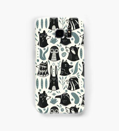 Plants & Animals Pattern Samsung Galaxy Case/Skin