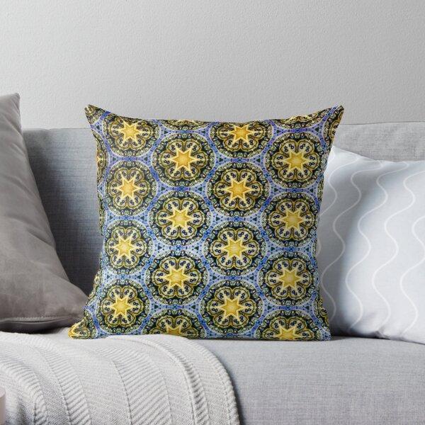 Starry Magic Pattern Throw Pillow