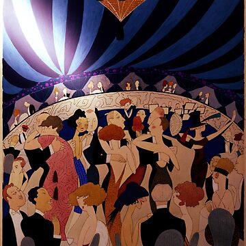 The Dance Hall by Lisamarimer