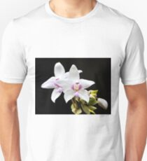 Purple Ground Orchid (Spathoglottis plicata) Unisex T-Shirt