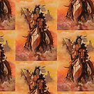 Apache Rider by Michael Todd