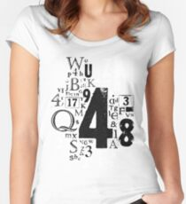Type T Women's Fitted Scoop T-Shirt