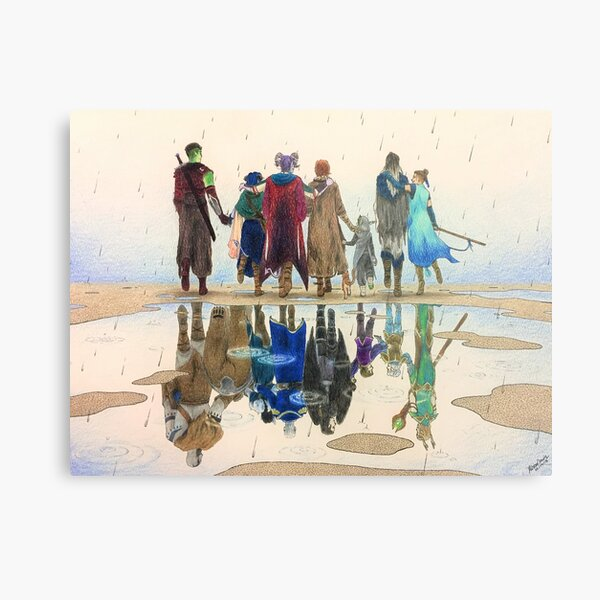 Critical Role | The Reflection Metal Print