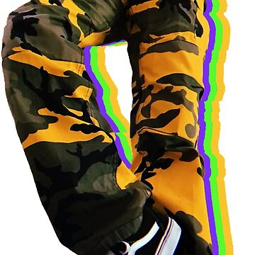 camo pants  by phronemophobe