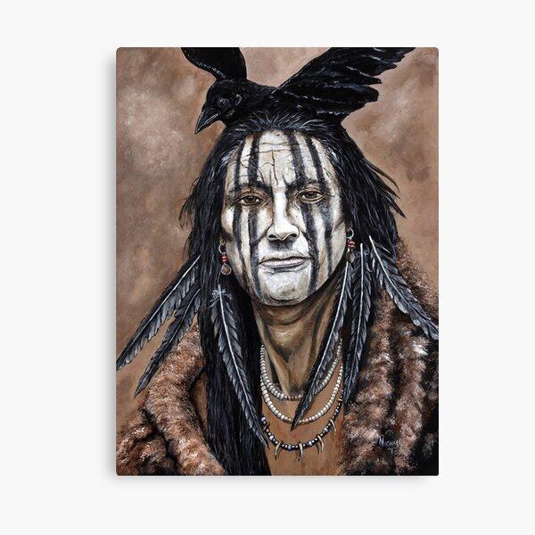 Crow Indian Canvas Print