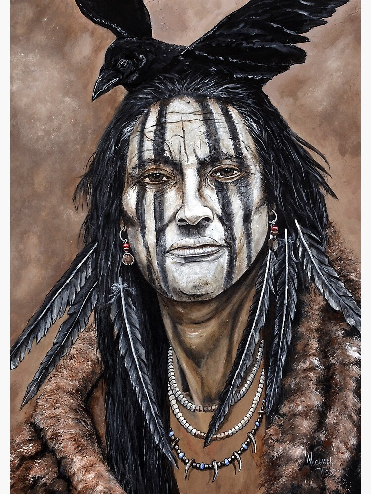 Crow Indian by michaeltodd