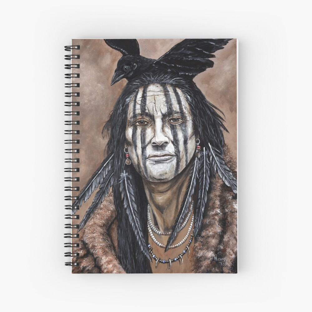 Crow Indian Spiral Notebook