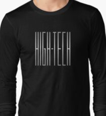 Silver High Tech Long Sleeve T-Shirt