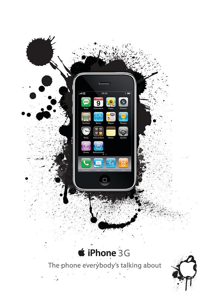 iPhone ad by Ashley Geoghegan