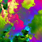 Live - Bright vivid surreal cloudscape by WesternExposure