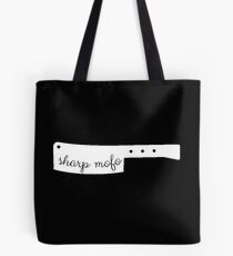 Sharp mofo Tote Bag