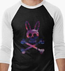 Poison Icon Skull Rabbit  Men's Baseball ¾ T-Shirt