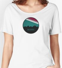 Anchorage skyline Women's Relaxed Fit T-Shirt