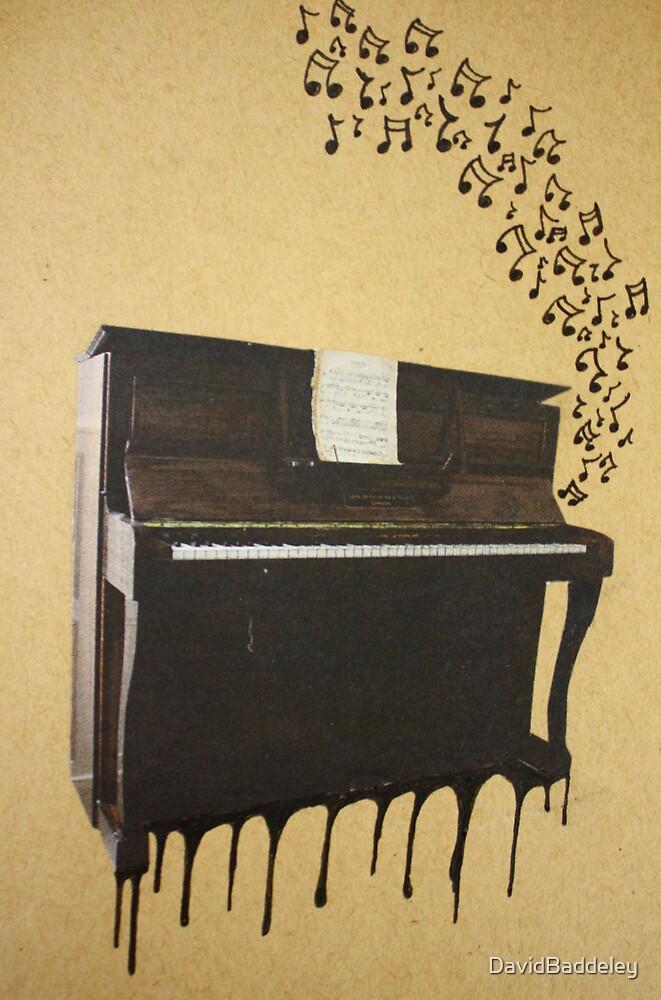 My Old Upright Piano Bleeds When I Hit The Black Keys by DavidBaddeley