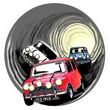 The Italian job minis escaping in the sewer by Alan67Q