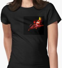 Little Devil Teemo Women's Fitted T-Shirt