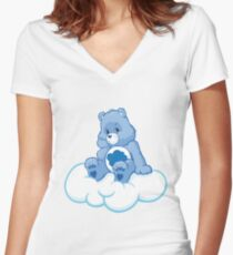 Care Bears Women's Fitted V-Neck T-Shirt