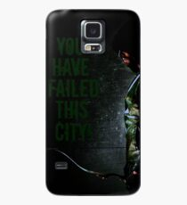 Arrow Quote Case/Skin for Samsung Galaxy