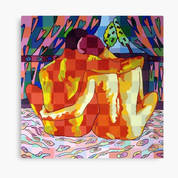 gay art homosexual painter lgbt artist raphael perez Canvas Print