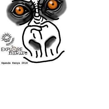 Gorilla Uganda by koalajanine