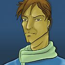 A Character:: Profile in Photoshop by Tridib Ghosh