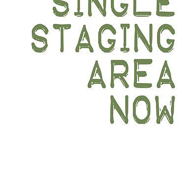 Single Staging Area Now Anti Border Prison Hashtag by merchhost