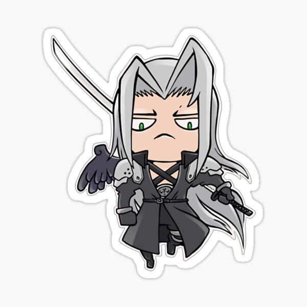 Final Fantasy Mini Sephiroth Sticker