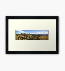 Kilkivan Bush Camping Framed Print
