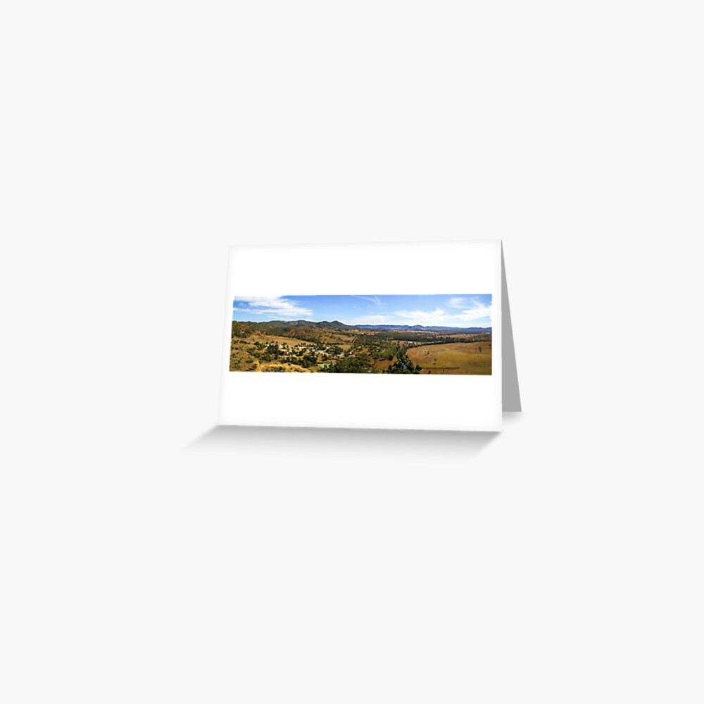Kilkivan Bush Camping Greeting Card