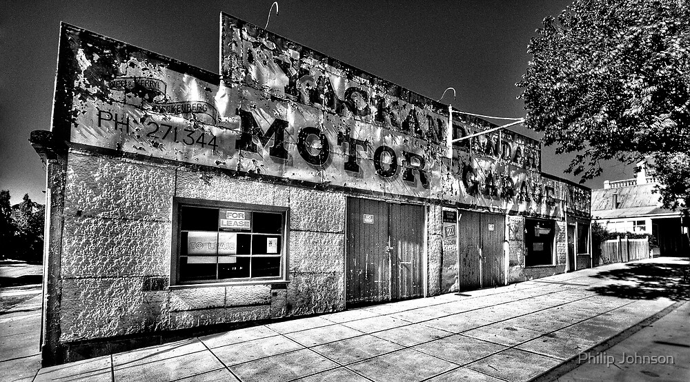 Clean Your Windscreen ?(Monochrome) - Yackandandah, Victoria - The HDR Experience by Philip Johnson