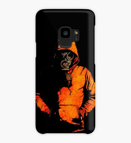 vulpes pilum mutat, non mores (Black Shirt Version) Case/Skin for Samsung Galaxy