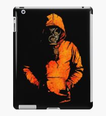 vulpes pilum mutat, non mores (Black Shirt Version) iPad Case/Skin