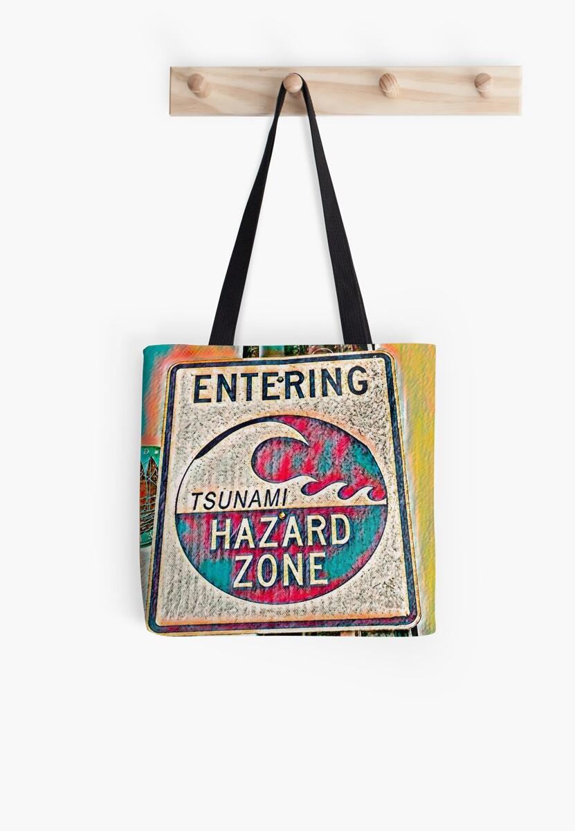 Tsunami Warning (Colorful Theme) by Joe Lach