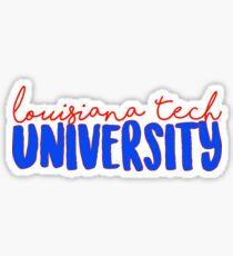 Louisiana Tech University Sticker