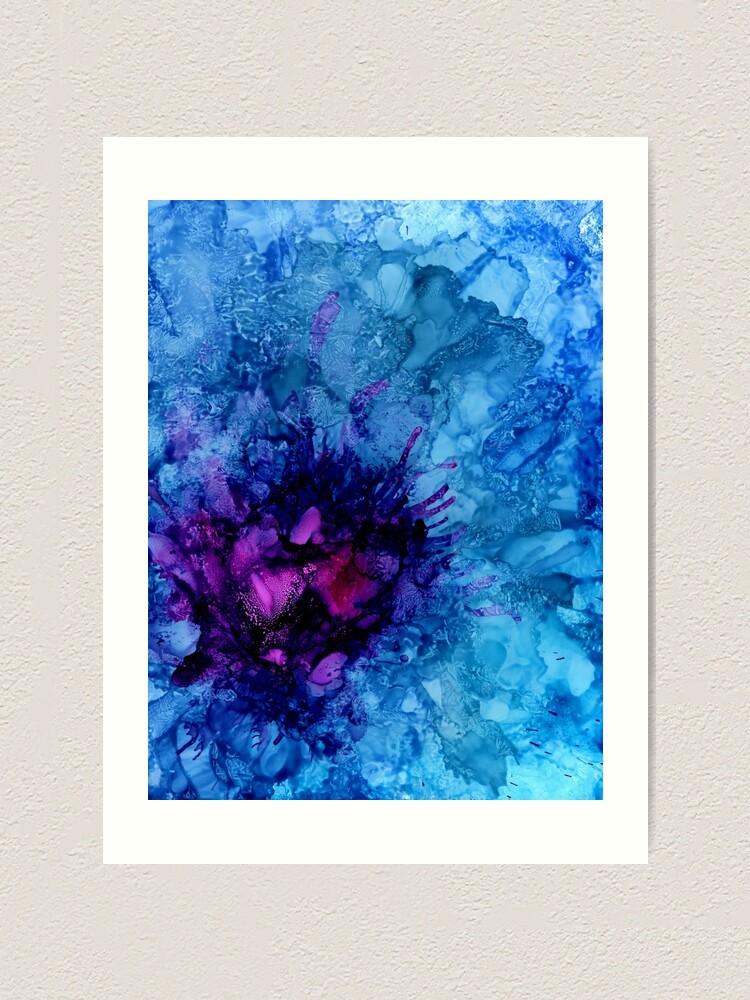 Alternate view of Amethyst Freeze Art Print
