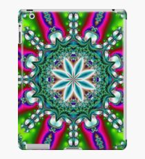 Green and Fuchsia Kaleidoscope Merchandise iPad Case/Skin