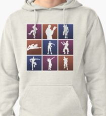 Emotes for everyone! Pullover Hoodie