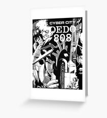 Cyber City Oedo 808 Greeting Card